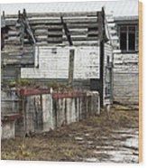 Arcadia Florida State Livestock Market I Poster Look Wood Print