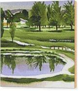 Arcadia Valley Country Club Dramatic Wood Print