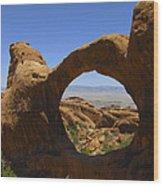 Arch 31 Wood Print
