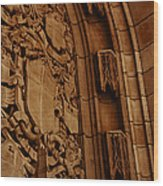 Arch Details Wood Print