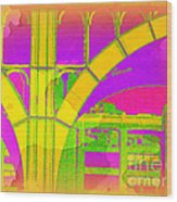 Arch Four - Architecture Of New York City Wood Print