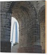 Arch In Arch Wood Print