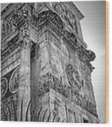 Arch Of Constantine Wood Print