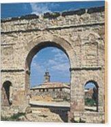 Arch Of Medinaceli. 1st C. Spain Wood Print
