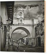 Arch Of Santa Catalina Wood Print