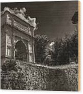 Arch Of Titus Wood Print