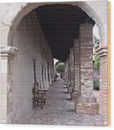 Arch San Juan Capistrano Wood Print