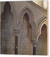 Arch Shadows Wood Print