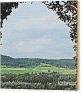 Arch To Austria Wood Print