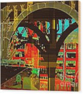 Arch Two - Architecture Of New York City Wood Print
