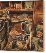 Archaeologist -  The Adventurer's Jornal Wood Print