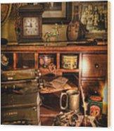 Archaeologist - The Adventurer's Hutch  Wood Print