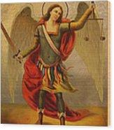 Archangel Michael Wood Print