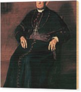 Archbishop William Henry Elder Wood Print