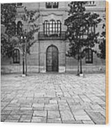 Archbishop's Palace Granada Wood Print