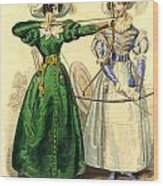Archery Duchess Wood Print
