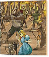 Archery In Oxboar Wood Print