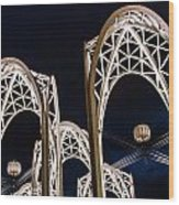 Arches And Angles 1 Wood Print