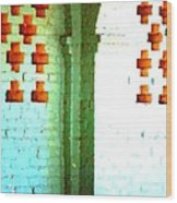 Arches And Crosses New Orleans Louisiana Usa Wood Print