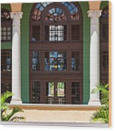 Arches And Doors At The Biltmore Wood Print