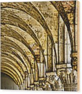 Arches At St Marks - Venice Wood Print