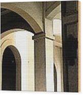Arches Fresco Wood Print