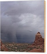 Arches National Monument Moab Wood Print