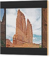 Arches National Park Panel Wood Print