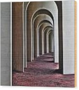 Arches Of Ferguson Center Wood Print