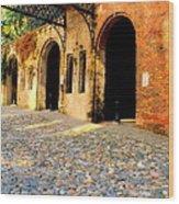 Arches Under The Bridge Wood Print