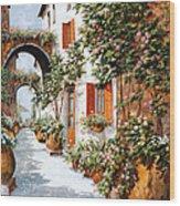 Archi E Orci Wood Print