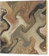 Architechtonic Analysis Of Cortex Detail Wood Print