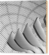 Architectural Abstract 4 - Interior Of Wood Print