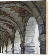 Architectural Artwork At Place De Vosges Wood Print