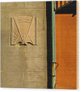 Architectural Detail 1a Wood Print