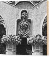 Architectural Detail - Barcelona - Spain Wood Print