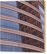 Architecture 1 Wood Print by Tom Druin