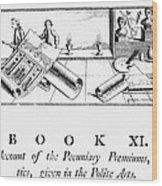 Architecture, 1772 Wood Print