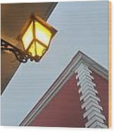 Architecture And Lantern 3 Wood Print