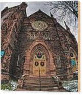 Architecture And Places In The Q.c. Series 01 Trinity Episcopal Church Wood Print
