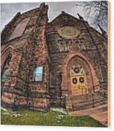Architecture And Places In The Q.c. Series 03 Trinity Episcopal Church Wood Print