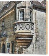 Architecture Of Dijon Wood Print