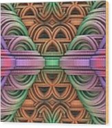Architopia Wood Print