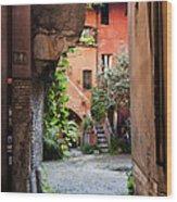 Arco Degli Acetari Wood Print