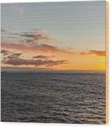 Arctic Daybreak Wood Print