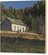 Ardclach Church Wood Print
