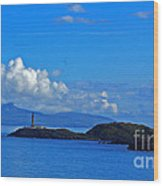 Ardnamurchan Lighthouse 4 Wood Print