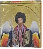 Are You Experienced Altarpiece Wood Print
