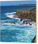 Arecibo Lighthouse 4 Wood Print