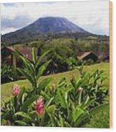 Arenal Costa Rica Wood Print